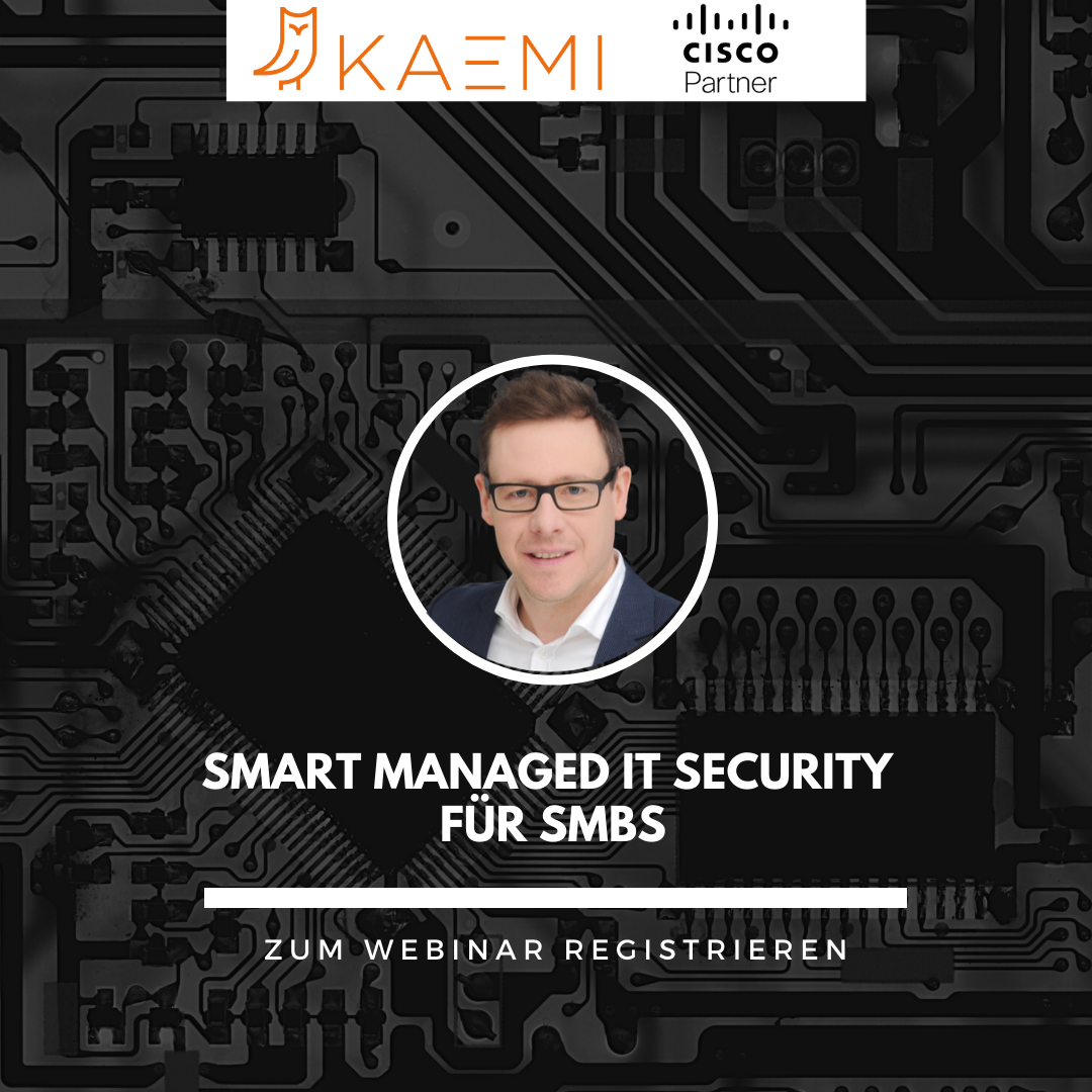 Webinar: Smart Managed IT Security für Small Medium Business